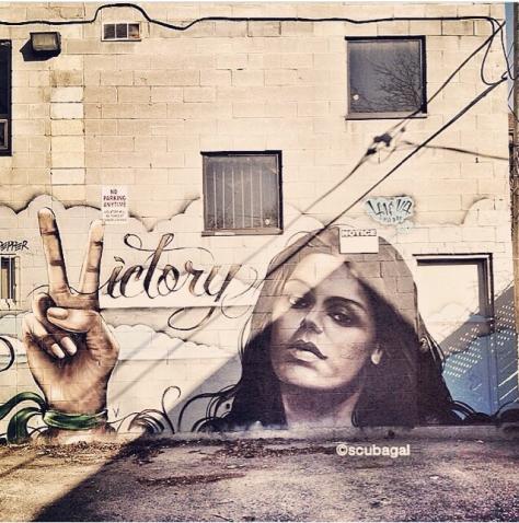 Victory, Toronto, Canada; artist credit, Jarus