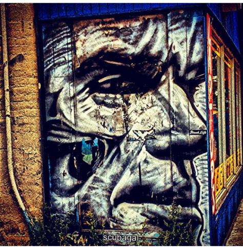 The Wise Man, Toronto, Canada; artist credit, Omen514