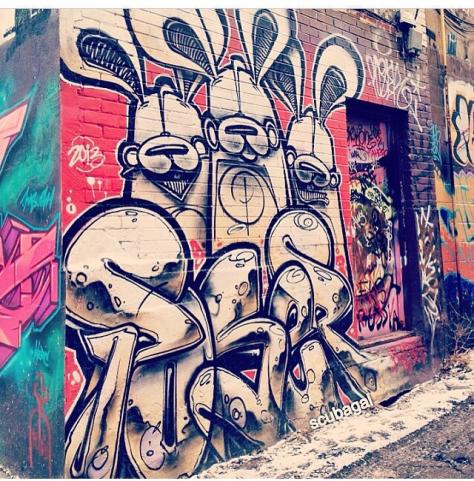 Play Bunnies, Toronto, Canada; artist credit, Poser