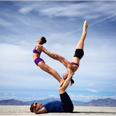 Courtesy of @acroyoga. Reposted from @theacrobear