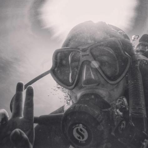 My Underwater Selfie